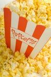 Palomitas de la película Imagen de archivo libre de regalías