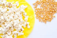 Palomitas de maíz Fotografía de archivo libre de regalías
