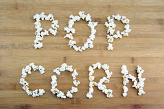 Palomitas de maíz Foto de archivo