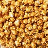 Palomitas de maíz del caramelo Foto de archivo