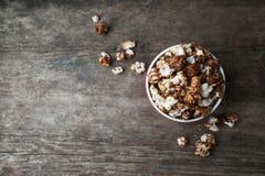 Palomitas del chocolate Fotos de archivo libres de regalías