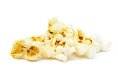 Palomitas del queso Fotos de archivo libres de regalías