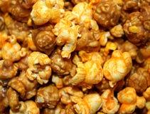 Palomitas del queso y del caramelo Imágenes de archivo libres de regalías