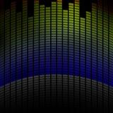 Palonnier multicolore, avec la réflexion Photos libres de droits