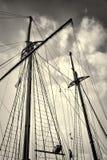 Palos del velero fotos de archivo