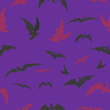 Palos en un fondo de la lila para Halloween Fotos de archivo