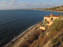 Palos Verdes Beach und athletischer Verein, Màlaga-Bucht, Los Angeles, Kalifornien Stockfotografie