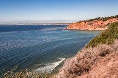 Palos Verdes Cliff Imagen de archivo libre de regalías
