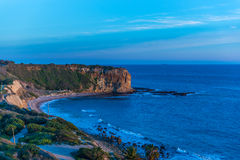 Palos Verdes Cliffs Photo stock