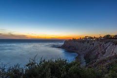 Palos Verdes Cliffs Royalty Free Stock Images