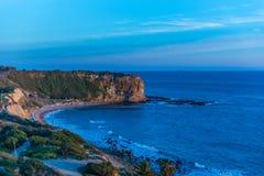Palos Verdes Cliffs stock photo