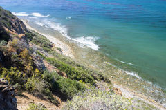 Palos Verdes coastline Royalty Free Stock Photography