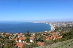 Palos Verdes Estates, Kalifornien stockfotografie