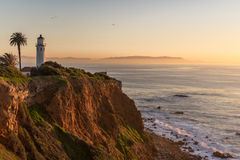 Palos Verdes Lighthouse Royalty Free Stock Photo