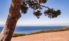 Palos Verdes Ocean View Stock Afbeeldingen