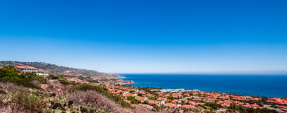 Palos Verdes Panorama Fotografia de Stock Royalty Free
