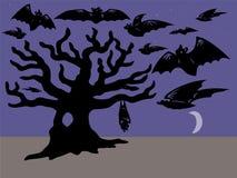 Palos y árbol Imagen de archivo