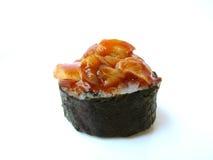 Palourde épicée de petit pain de sushi Photographie stock libre de droits