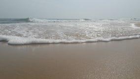 Palourde et blessure tranquille de mer avec ensoleillé photos stock