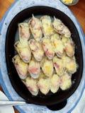 Palourdes d'éleveur de parmesan Photos libres de droits