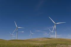 Palouse风力场 库存图片