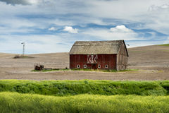 Palouse Barn Royalty Free Stock Photos