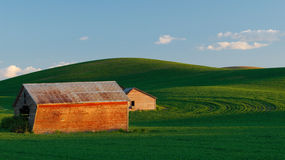 Palouse Barns Royalty Free Stock Images
