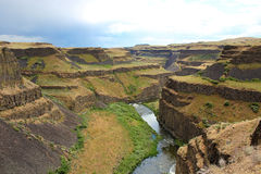 Palouse canyon Royalty Free Stock Photo