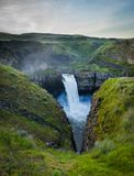 The Palouse Falls in Washington, USA Royalty Free Stock Images