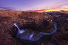 Palouse Falls Royalty Free Stock Photography