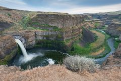 Palouse Falls Royalty Free Stock Photos