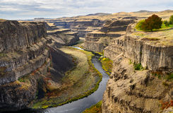 Palouse Falls State Park Royalty Free Stock Photography