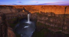 Palouse Falls at Sunset Stock Photos