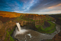 Palouse Falls, Washington Royalty Free Stock Images
