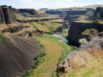 Palouse Falls, Washington State Royalty Free Stock Photo