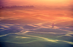 Palouse Glow Royalty Free Stock Photography