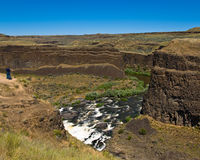 Palouse River Canyon Royalty Free Stock Photo