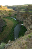 Palouse river and canyon Royalty Free Stock Image