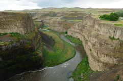 Palouse river and canyon royalty free stock images