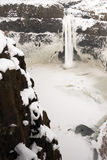 Palouse River Falls Frozen Water Wilderness Waterfall Winter Royalty Free Stock Photo