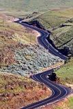 Palouse szenisches Washington Stockbild