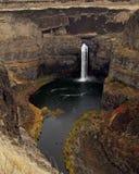 Palouse tombe cascade et bassin photo libre de droits