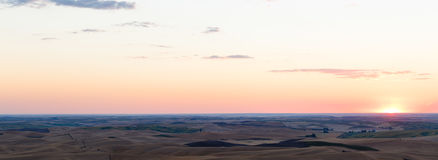 Palouse, WA. Wheat fields in Palouse, Washington Stock Photos