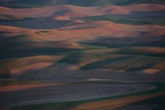 Palouse Washington von Steptoe-Butte Lizenzfreies Stockfoto