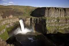 Palouse Waterfall Washington Royalty Free Stock Photos