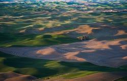Palouse Wind Turbines Stock Images