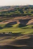 Palouse-Windkraftanlagen Stockfoto