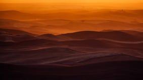 Palouselandschap bij zonsondergang Stock Afbeelding