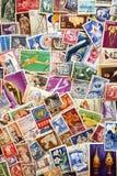 palowi poczta Romania znaczki używać Fotografia Stock