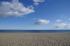 Pals Beach. In Girona. Catalonia Stock Photos